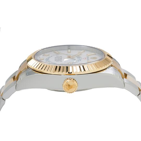 Rolex ROLEX SKY-DWELLER 326933 42MM WHITE DIAL WITH TWO TONE BRACELET Image 3
