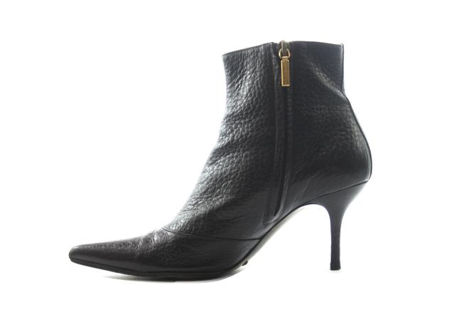 Item - Black Leather Boots/Booties Size US 6.5 Narrow (Aa, N)