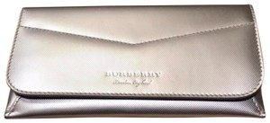 Burberry Metallic Trench Leather Wallet
