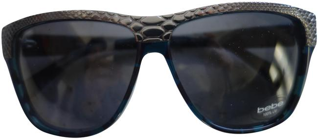 Item - Navy Blue Green Sunglasses