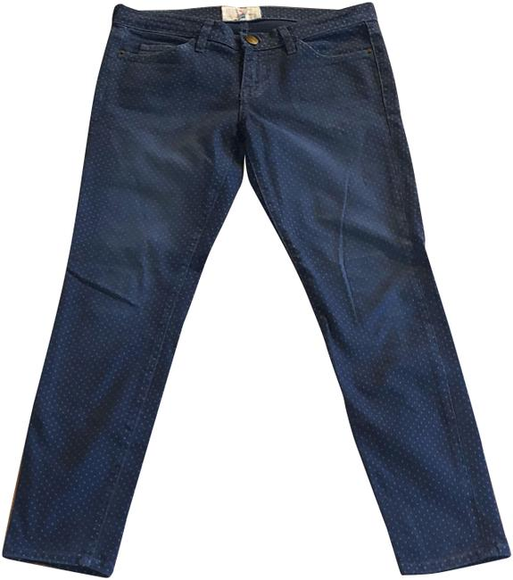 Item - Blue Distressed The Stiletto Stretch Straight Leg Jeans Size 4 (S, 27)