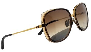 Calvin Klein CK8575S-262-59 Square Women's Havana Frame Brown Lens Sunglasses