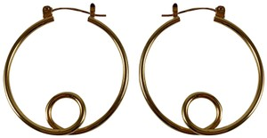 9.2.5 9.2.5 gold plated Swirl Hoops
