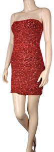 Dainty Hooligan Sequin Bodycon Stretch Dress