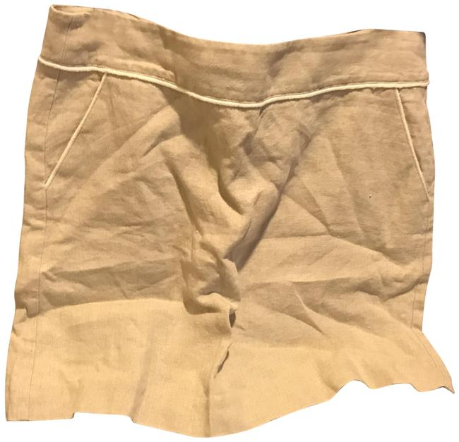 Item - Sand Beiege Loft Linene Fully Lined with Tags. Skirt Size 10 (M, 31)