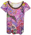 Etro Top Pink Colorful