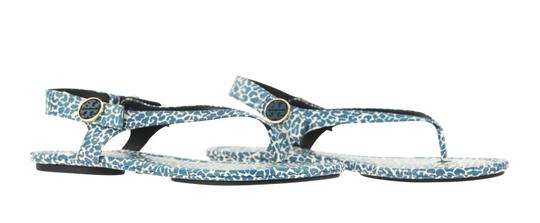 Tory Burch Blue Sandals Image 1