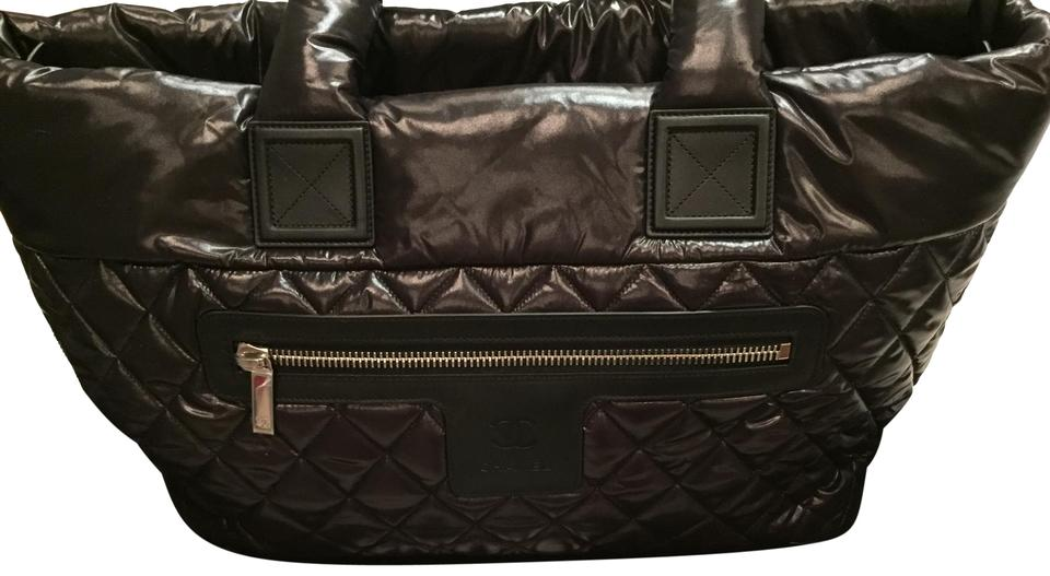 17d7a40ec5af9f Chanel Cocoon With Tags. Reversible. Black Nylon Tote - Tradesy