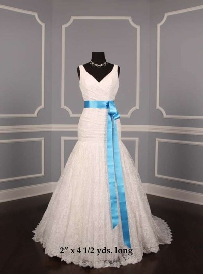 Ocean Blue Ribbon Sash