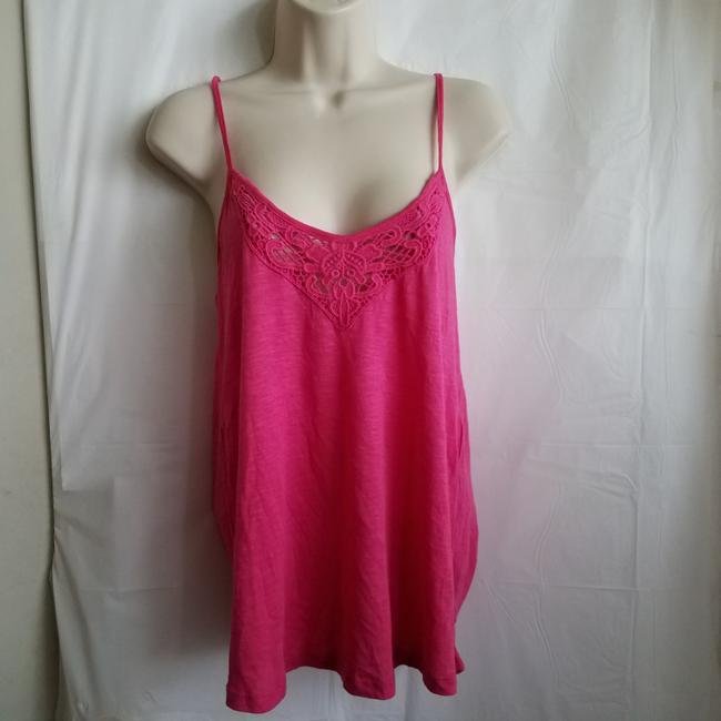 P.J. Salvage Designer Camisole Laced Fashion Nordstrom Top Pink Image 1