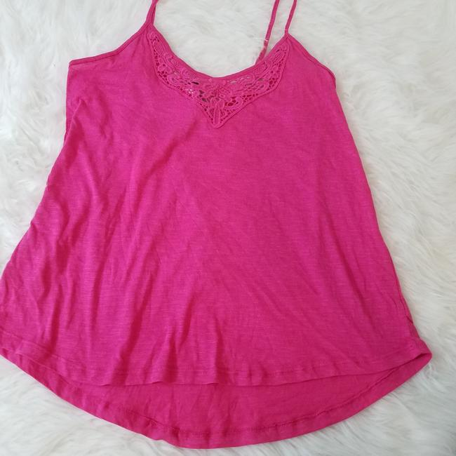 P.J. Salvage Designer Camisole Laced Fashion Nordstrom Top Pink Image 4