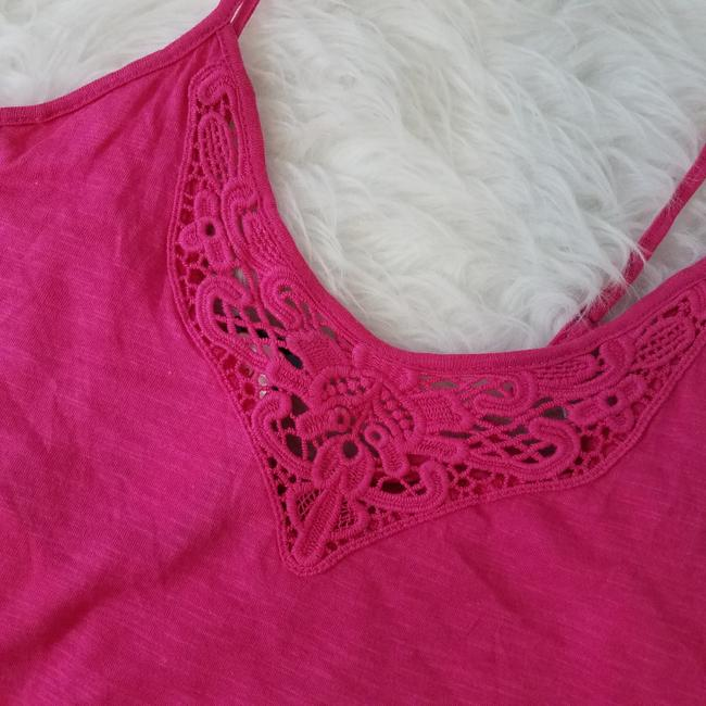 P.J. Salvage Designer Camisole Laced Fashion Nordstrom Top Pink Image 5