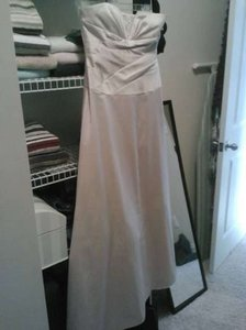 David's Bridal Champaigne Dress