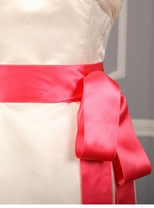 Azalea Pink Ribbon Sash Sashes