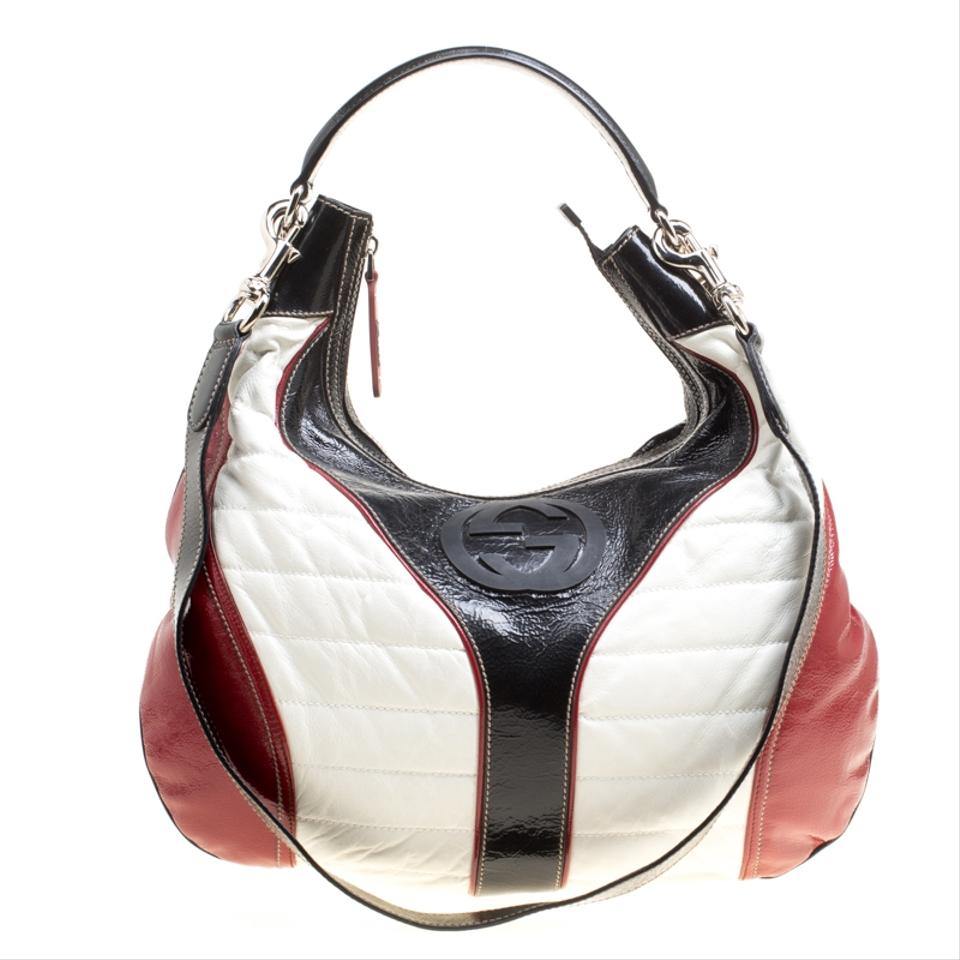 2620fd7dd27 Gucci Snow Glam Medium Tricolor Leather Hobo Bag - Tradesy