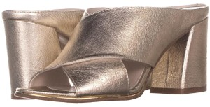 Kenneth Cole Gold Mules