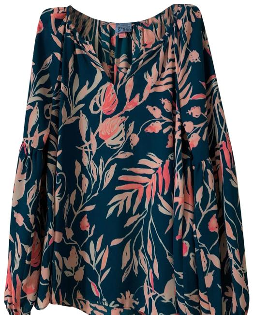 Preload https://img-static.tradesy.com/item/25035598/lilly-pulitzer-multi-green-and-pink-blouse-size-6-s-0-1-650-650.jpg