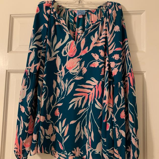 Lilly Pulitzer Top multi green and pink Image 3