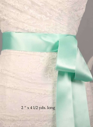 Preload https://img-static.tradesy.com/item/250359/seafoam-green-ribbon-sash-0-0-540-540.jpg