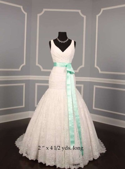 Seafoam Green Ribbon Sash