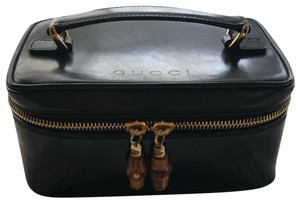 aab23b11fc7 Added to Shopping Bag. Gucci Baguette. Gucci Bamboo Cosmetic Black ...
