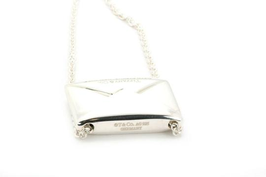 Tiffany & Co. Sweet Nothing Sterling Envelope Letter Pendant