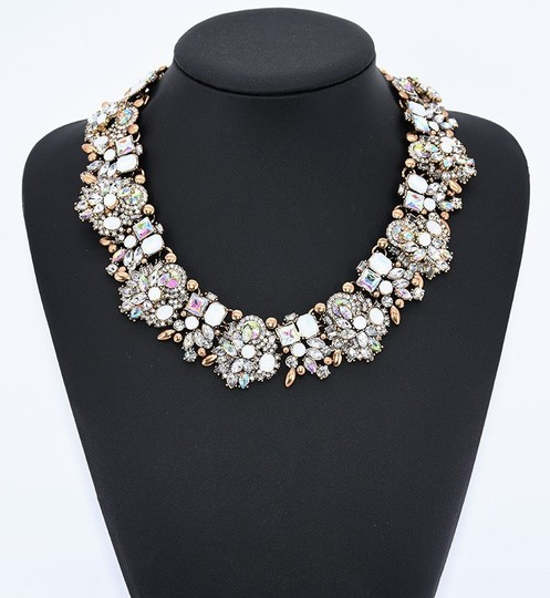 Preload https://img-static.tradesy.com/item/25036241/white-glory-resin-crystal-necklace-0-0-540-540.jpg