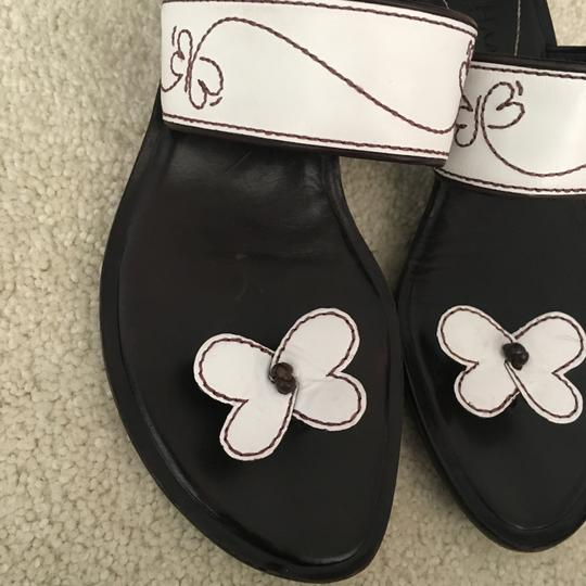 Cole Haan Butterfly Thong White Sandals