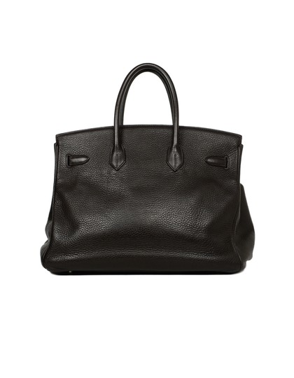 Hermès Leather Birkin Classic Tote in Brown