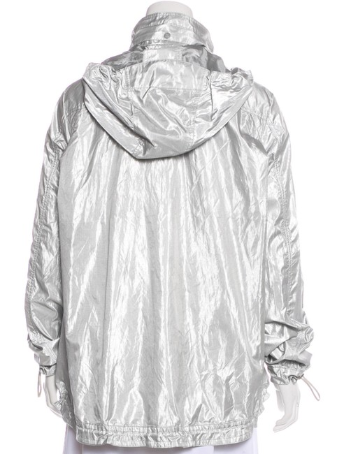Chanel Runway Hooded SILVER Jacket