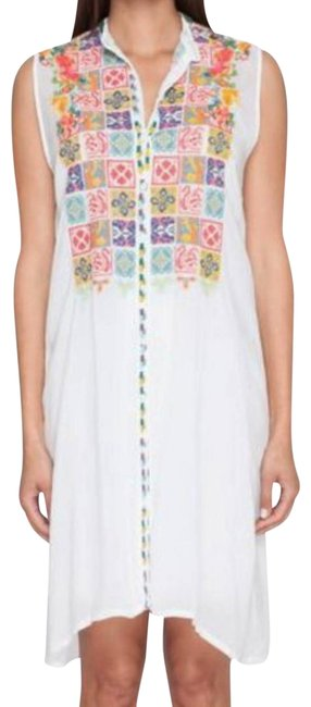 Preload https://img-static.tradesy.com/item/25036480/johnny-was-white-embroidered-buttondown-short-casual-dress-size-8-m-0-8-650-650.jpg