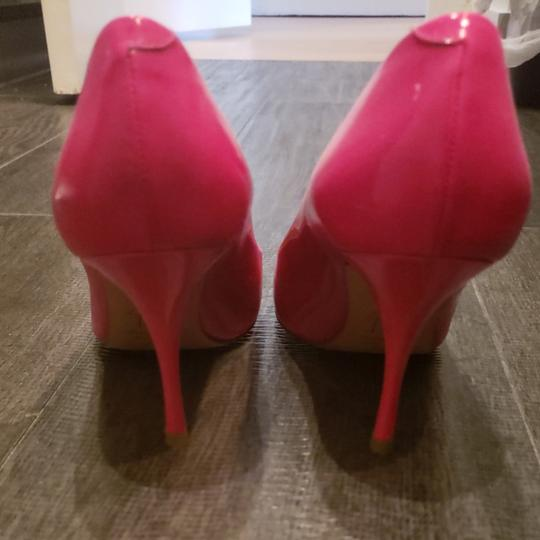 Giuseppe Zanotti Bright pink. Feet look gorgeous in this bright number Pumps