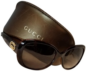 1a586ed12fb Brown Gucci Sunglasses - Up to 70% off at Tradesy