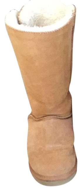 Item - Tan Winter Boots/Booties Size US 7.5 Wide (C, D)