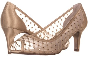 Adrianna Papell Gold Platforms