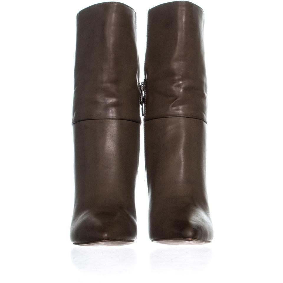 435e5ffe7715 BCBGeneration Green Leslie Cone-heel 929 Taupe Boots Booties Size US ...