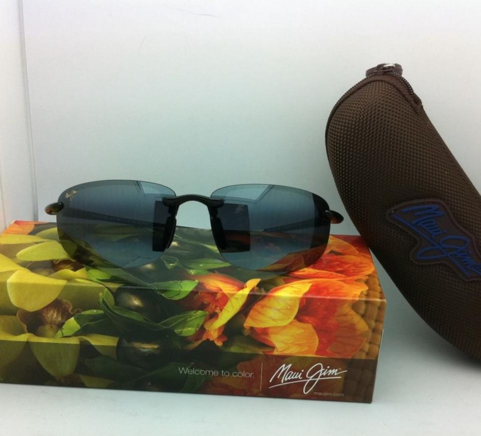 257fc9ac1d3 Maui Jim New Ho'okipa Reader +2.5 G 807-0225 Black Frame Grey Lenses ...