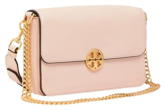Preload https://img-static.tradesy.com/item/25037994/tory-burch-shoulder-bag-chelsea-convertible-pink-pebbled-leather-clutch-0-3-540-540.jpg