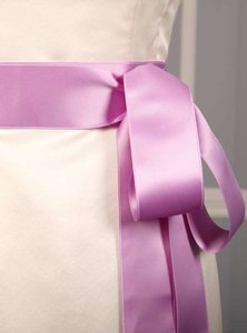 Lilac Purple Ribbon Sash