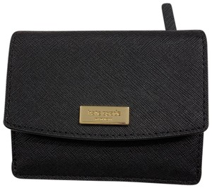 3f9b0585404 Kate Spade Petty Laurel Way Coin Pouch Credit Card Holder Small Wallet