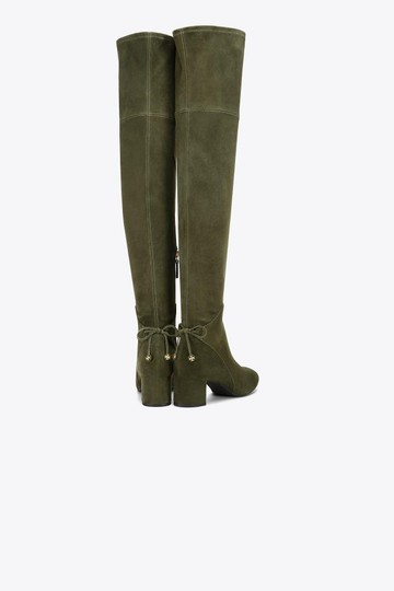 Tory Burch Green Boots Image 1