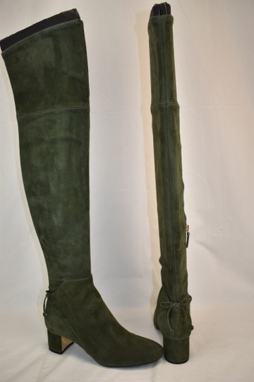 Tory Burch Green Boots Image 4