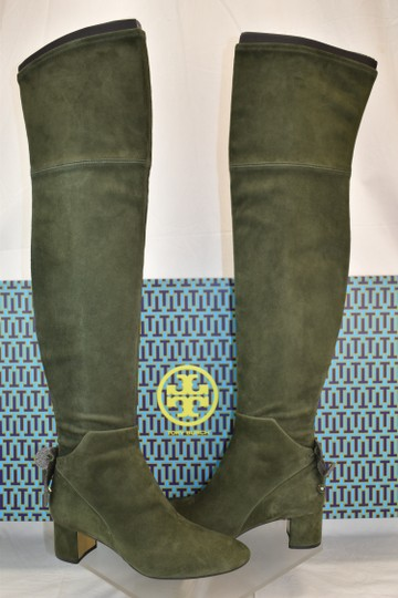 Tory Burch Green Boots Image 2