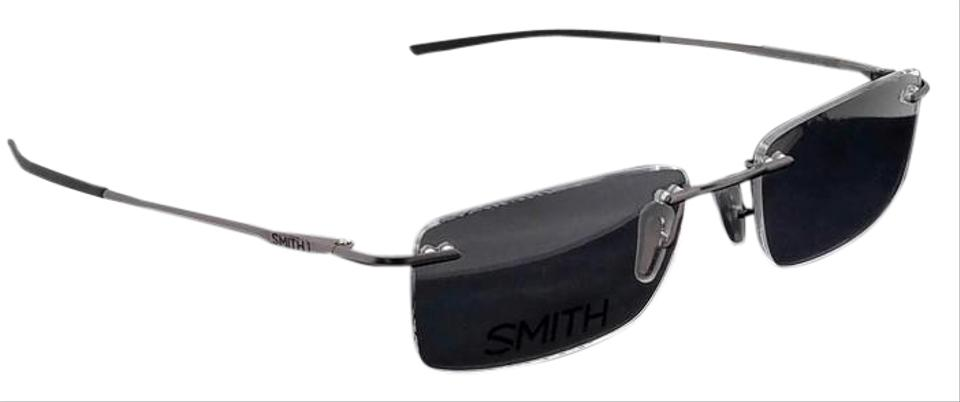 0751d0dad9 Smith DAVIS55-R80 Rectangle Men s Ruthenium Frame Genuine Eyeglasses NWT  Image 0 ...