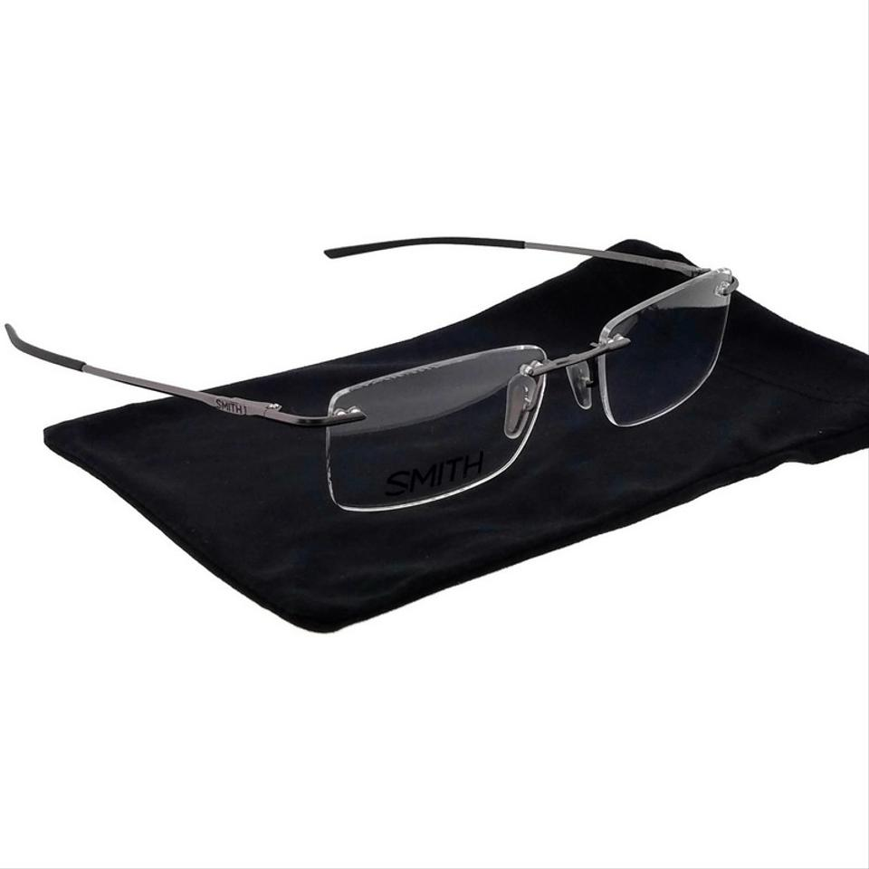 e94cb57e61 Smith Ruthenium Davis55-r80 Rectangle Men s Frame Genuine Eyeglasses ...