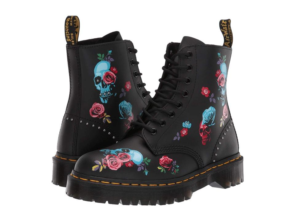 3e61514ad59 Dr. Martens Black 1460 Pascal Rose Bex Skulls Boots/Booties Size US ...