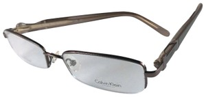 Calvin Klein CALVIN KLEIN COLLECTION Eyeglasses CK 7338 272 Gunmetal Semi-Rimless