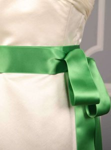 Kelly Green Ribbon Sash