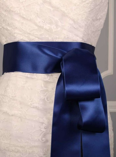 Deep Blue Ribbon Sash Sashes