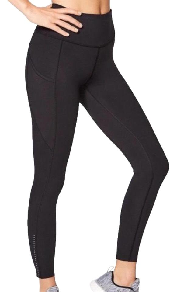 80780a7237f885 Lululemon Black High-rise Fast & Free 7/8 Tight Nwot Activewear Bottoms
